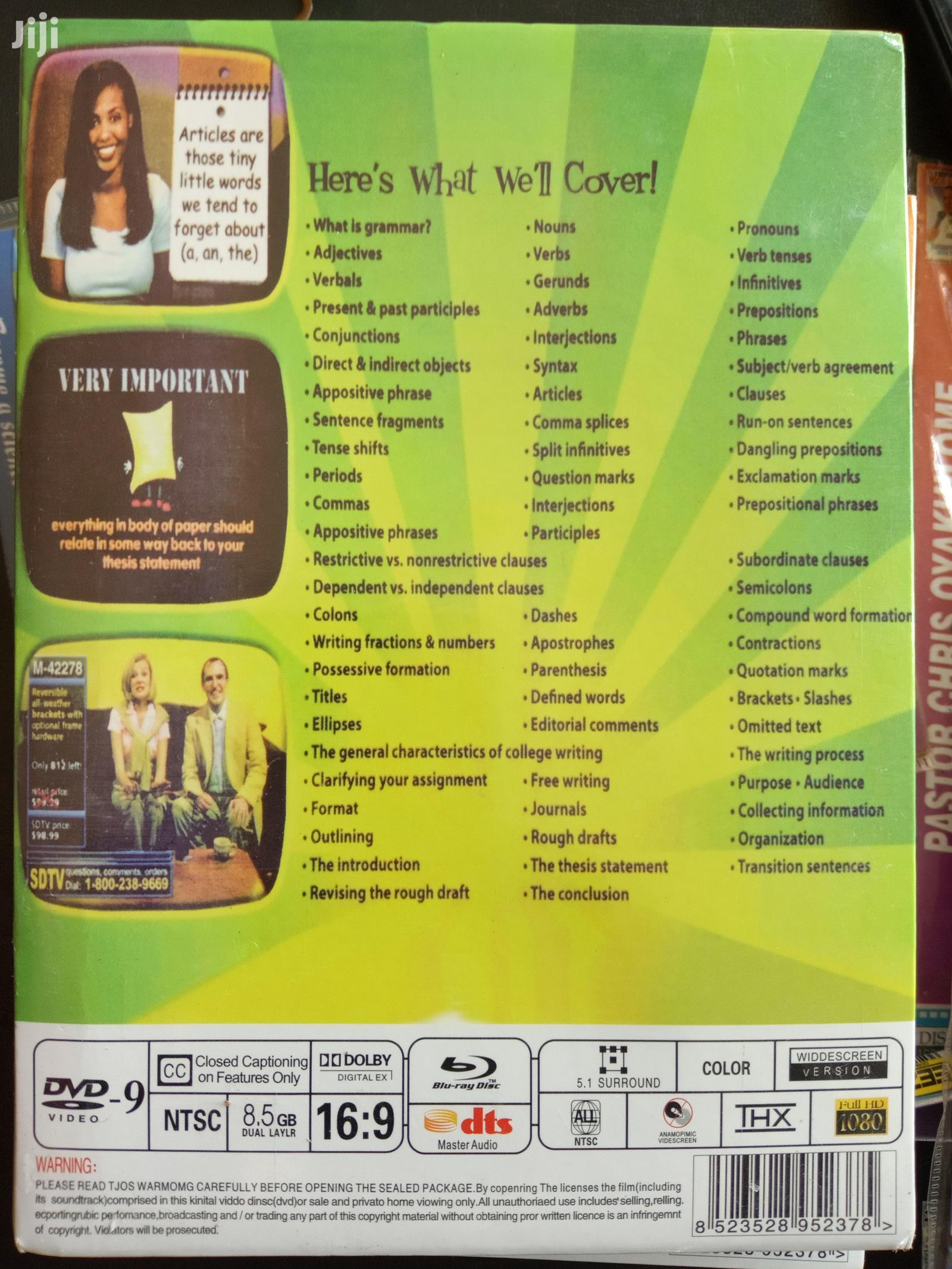 Standard Enormous English DVD Pack (FREE SHIPPING) | CDs & DVDs for sale in Akinyele, Oyo State, Nigeria