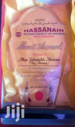 Presentable Award With Printing   Arts & Crafts for sale in Abuja (FCT) State, Maitama