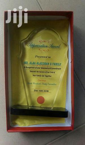 Presentable Award With Printing   Arts & Crafts for sale in Abuja (FCT) State, Gwagwalada