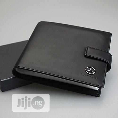 Mercedes Benz PU Leather CD Case Car DVD Holder Disc Disk Storage