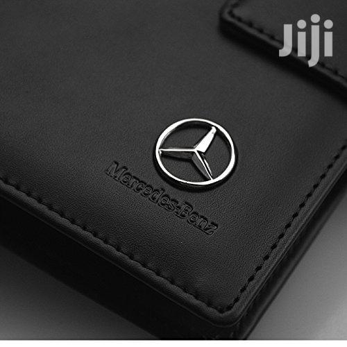 Mercedes Benz PU Leather CD Case Car DVD Holder Disc Disk Storage | Bags for sale in Benin City, Edo State, Nigeria