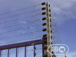 Electric Security Perimeter Fencing Installation | Building & Trades Services for sale in Rivers State, Bonny