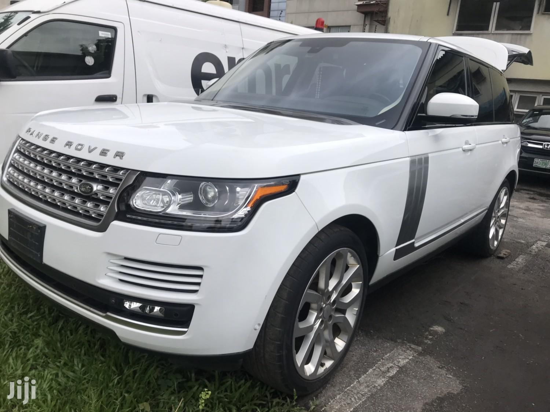 Land Rover Range Rover Vogue 2015 White