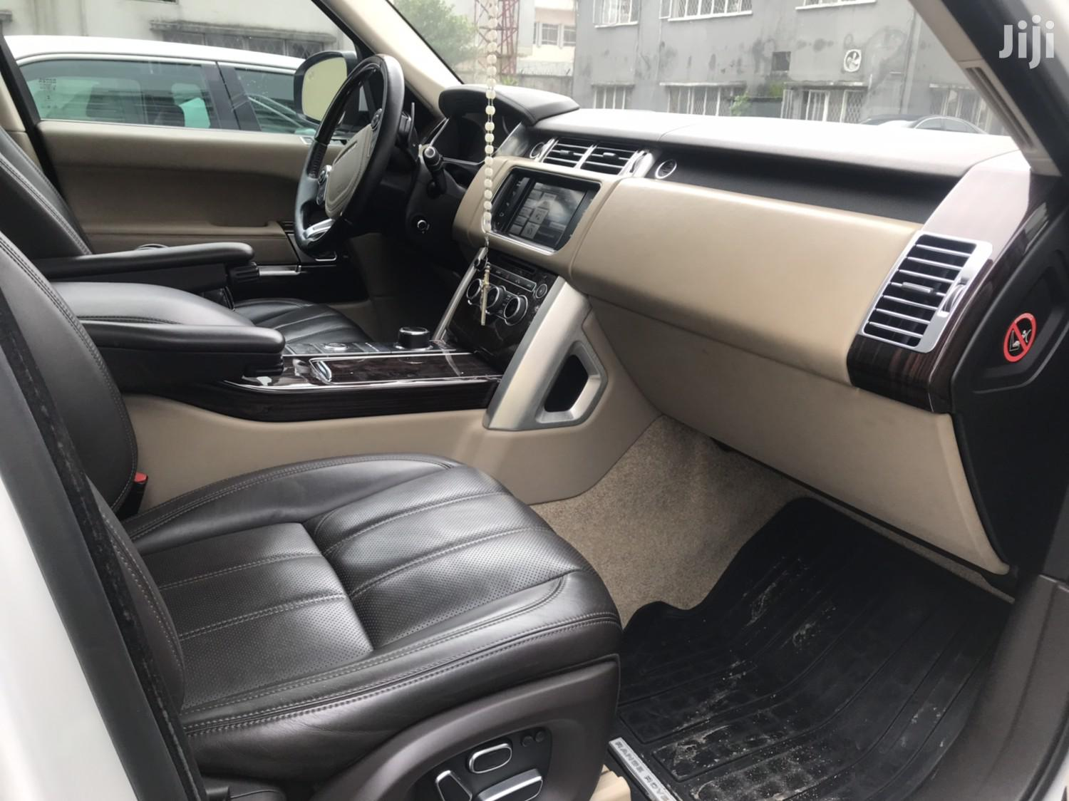 Land Rover Range Rover Vogue 2015 White | Cars for sale in Victoria Island, Lagos State, Nigeria