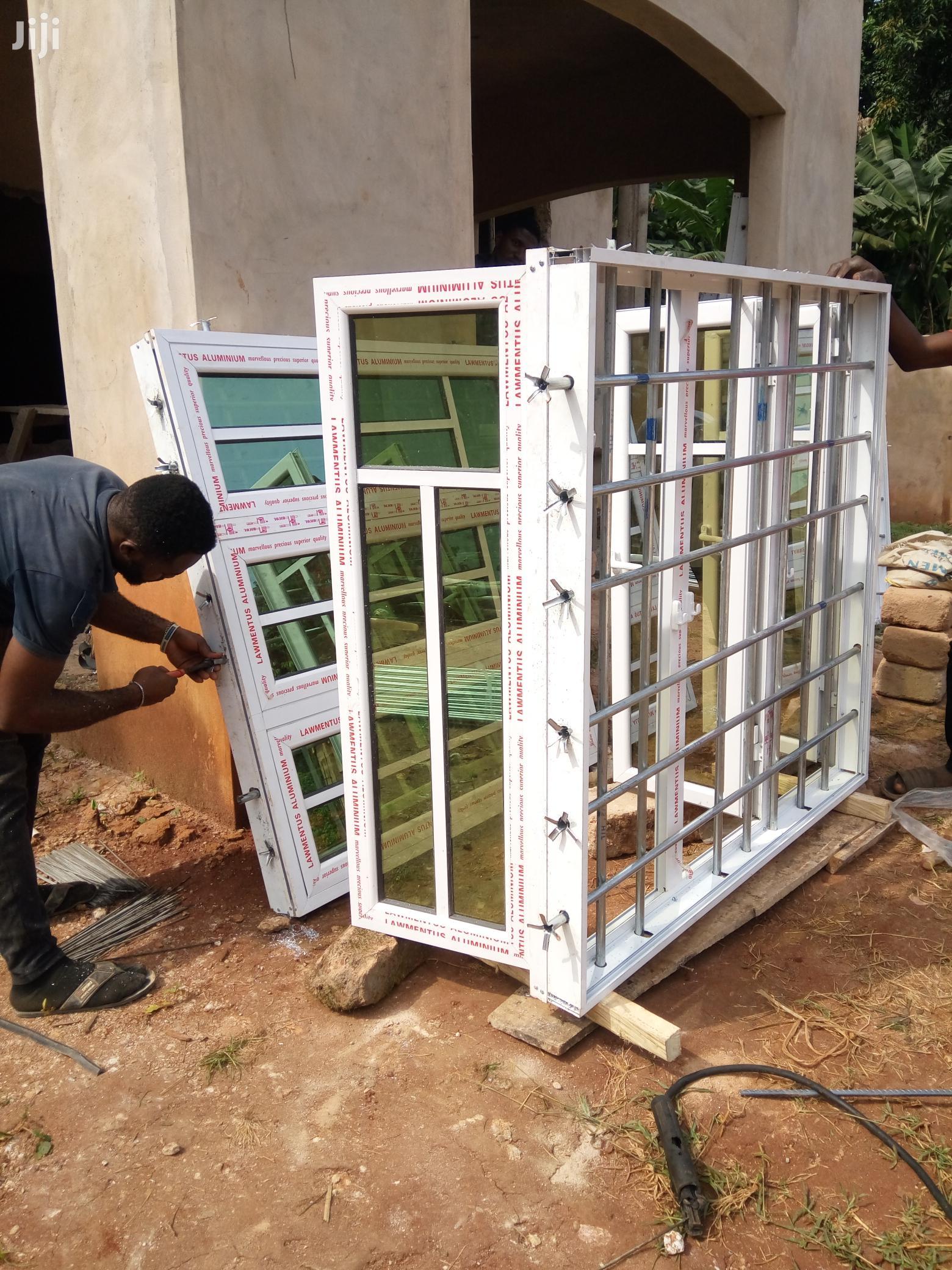 Casement Windows With Burglary Proof and Net