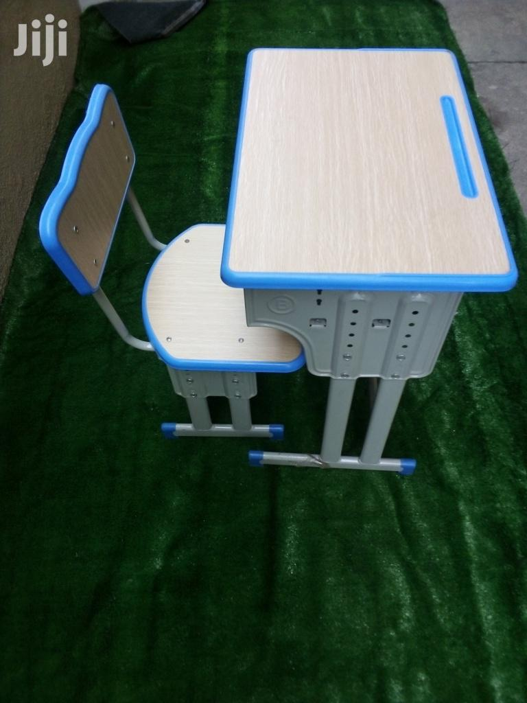 Elementary Modern School Desk and Chairs for Sale
