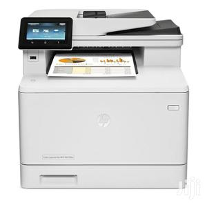 HP Color Laserjet Pro MFP M477fdw Printer   Printers & Scanners for sale in Lagos State, Ikeja