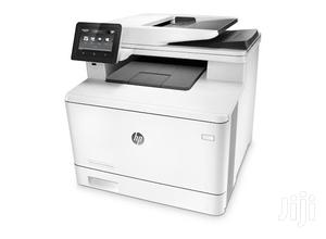 HP Color Laserjet Pro Mfp M477fdn | Printers & Scanners for sale in Lagos State, Ikeja