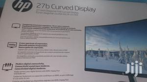 HP 27 Inches Curved Monitor | Computer Monitors for sale in Lagos State, Ikeja