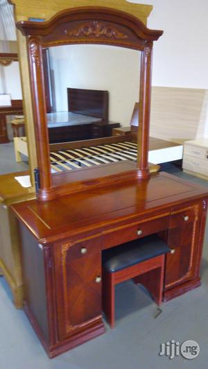 Wooden Table With Mirror   Home Accessories for sale in Lagos State, Ikeja