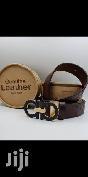 Ferragamo Brown Belt for Men's | Clothing Accessories for sale in Lagos State, Lagos Island (Eko)