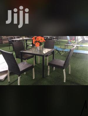 Basket Restaurant Bar Chairs With Table | Furniture for sale in Lagos State, Lagos Island (Eko)