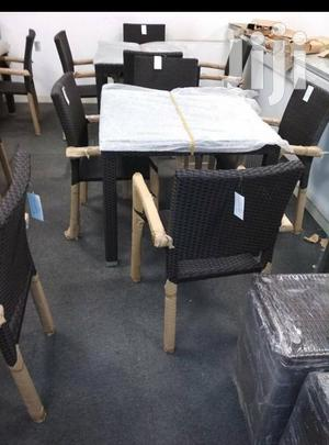 High Quality Basket Restaurant Bar Chairs 4 and Table | Furniture for sale in Lagos State, Ojo