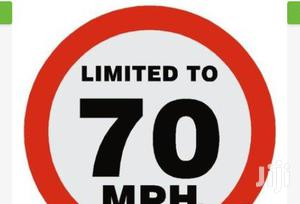 Km/H Speed Limit Sign BY HIPHEN SOLUTIONS | Safetywear & Equipment for sale in Cross River State, Calabar