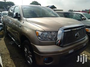 Toyota Tundra 2012 Double Cab 4x4 Limited Gold | Cars for sale in Lagos State, Amuwo-Odofin