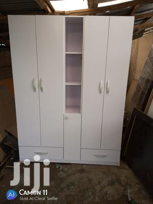 Quality Wardrobe 5door And 2drawer | Furniture for sale in Lagos State, Magodo