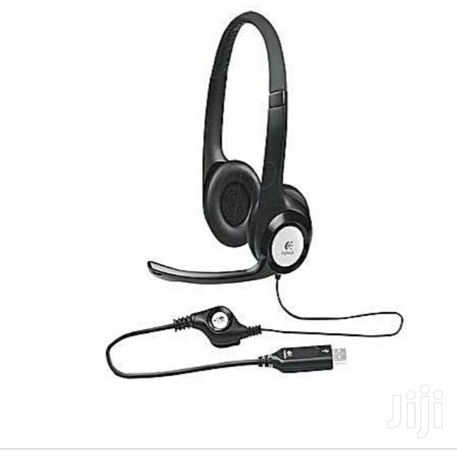 Logitech H390 USB Headset   Headphones for sale in Ikeja, Lagos State, Nigeria