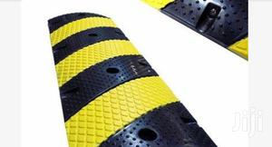 Rubber Traffic Speed Bump Hump With End Caps BY HIPHEN SOLUTIONS   Safetywear & Equipment for sale in Rivers State, Port-Harcourt