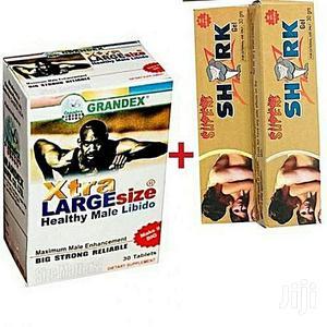 Grandex Penis Enlarger For Men + Penis Enlargement Cream   Sexual Wellness for sale in Lagos State, Lekki