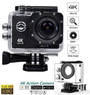 4k Sports Action Camera Wifi Ultra HD Waterproof Underwater Camcorder | Photo & Video Cameras for sale in Lagos State, Ikeja