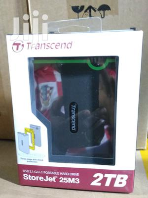 Trascend Usb 3.0 Portable Hard Drive 2TB | Computer Hardware for sale in Lagos State, Ikeja