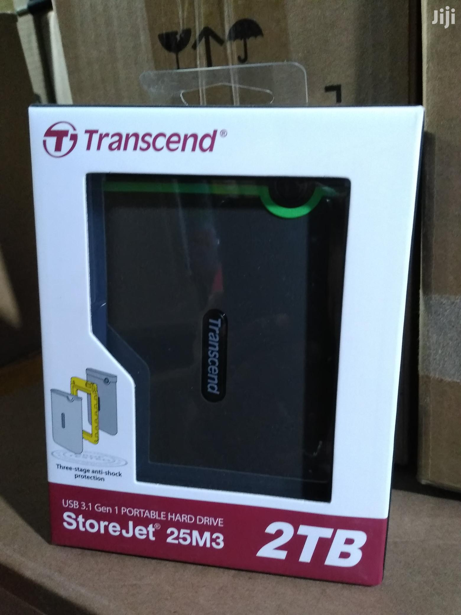 Trascend Usb 3.0 Portable Hard Drive 2TB | Computer Hardware for sale in Ikeja, Lagos State, Nigeria