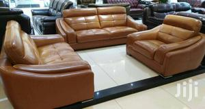 Sofa Sets. Imported Sofa Sets With Quality Leather And Fine Finishing | Furniture for sale in Lagos State, Ojo