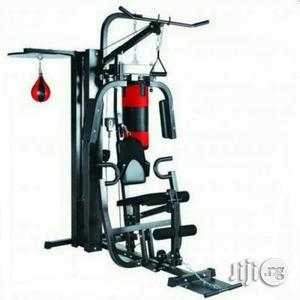 New Station Home Gym With Punching Bag   Sports Equipment for sale in Abuja (FCT) State, Utako