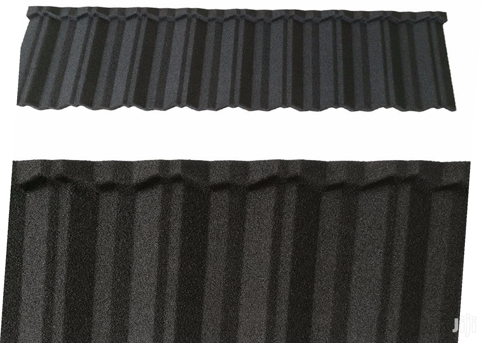Quality Metro Tile Roman Stone Coated Roofing Sheets Water Inlet