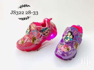 Light Cartoon Character Canvas Sneakers For Girls | Children's Shoes for sale in Lagos State, Lagos Island (Eko)