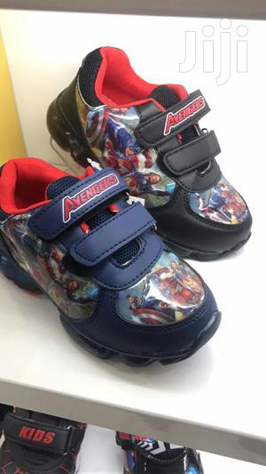 Light Cartoon Character Canvas Sneakers For Boys | Children's Shoes for sale in Lagos State, Lagos Island (Eko)