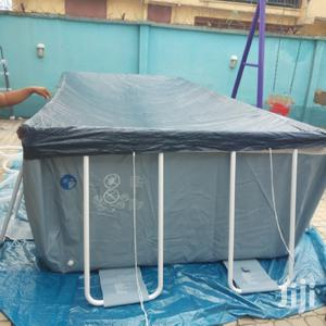 16fit By 8fit Swimming Pool With Ladder Filter And Cover   Sports Equipment for sale in Lagos State, Surulere