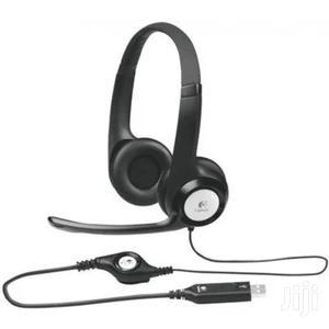 Logitech USB Headset - H390 | Headphones for sale in Lagos State, Ikeja