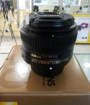 Original Brand New Nikon Lens 50mm   Accessories & Supplies for Electronics for sale in Lagos State, Ikeja