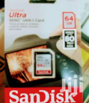 Sandisk Ultra 64gb Memory Card | Accessories & Supplies for Electronics for sale in Lagos State, Ikeja