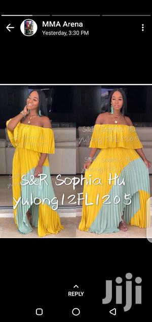 New Off Shouder Maxi Dress   Clothing for sale in Lagos State, Ikeja