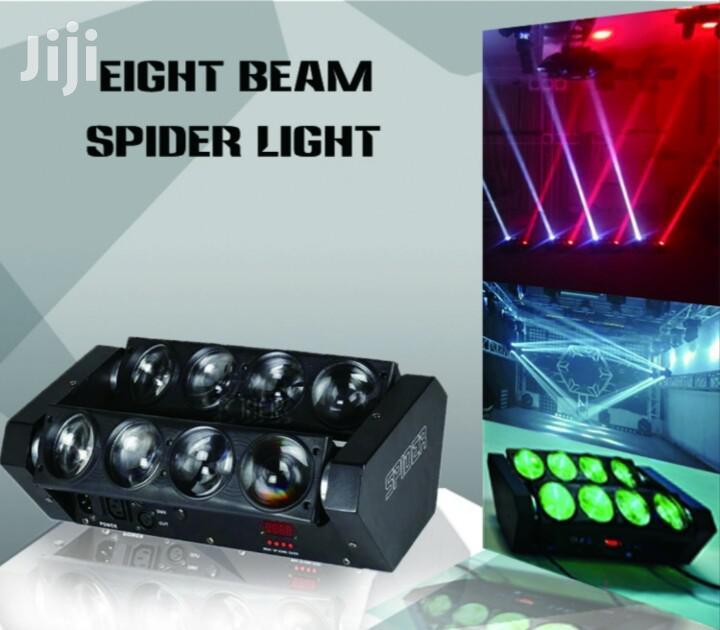 Club Light 8beam Spider Light