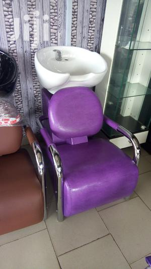 Salon Chair With Washing Marble. | Salon Equipment for sale in Lagos State, Ajah