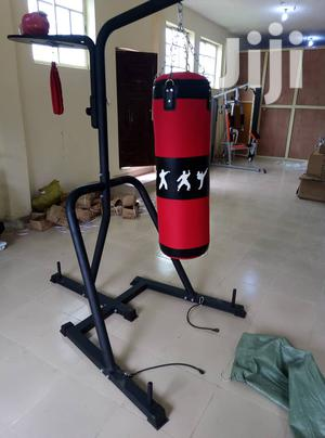Boxing Bag With Stand   Sports Equipment for sale in Lagos State, Surulere