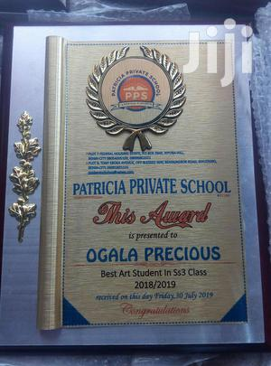 Wooden Plaque Award | Arts & Crafts for sale in Lagos State, Amuwo-Odofin