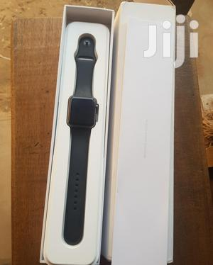 Clean American Used Iwatch Series 1 42mm Black   Smart Watches & Trackers for sale in Oyo State, Ibadan