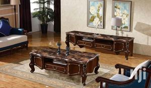 Royal Marble Center Table With Tv Stand Set   Furniture for sale in Lagos State, Ajah