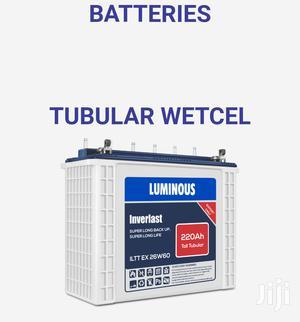 Luminous Tubular 220ah 12v Tubular Battery | Electrical Equipment for sale in Lagos State, Ikeja