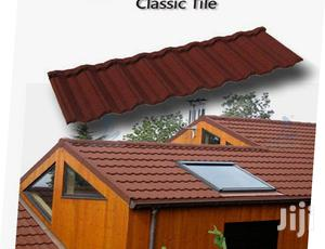 Red And Black Classic Gerard New Zealand Stone Coated Roof   Building Materials for sale in Lagos State, Ajah