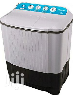 Brand New Hisense 7KG Twin Top Washing Machine Manual | Home Appliances for sale in Lagos State, Ojo