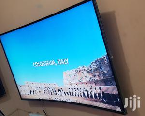 High Quality Samsung Curved Uhd 4K TV 55 lnch | TV & DVD Equipment for sale in Lagos State, Lekki