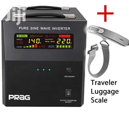Archive: 2kva 24v PRAG Pure Sine Wave Inverter