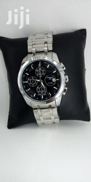 Tissot Chronograph Silver Chain Watch | Watches for sale in Lagos State, Lagos Island (Eko)