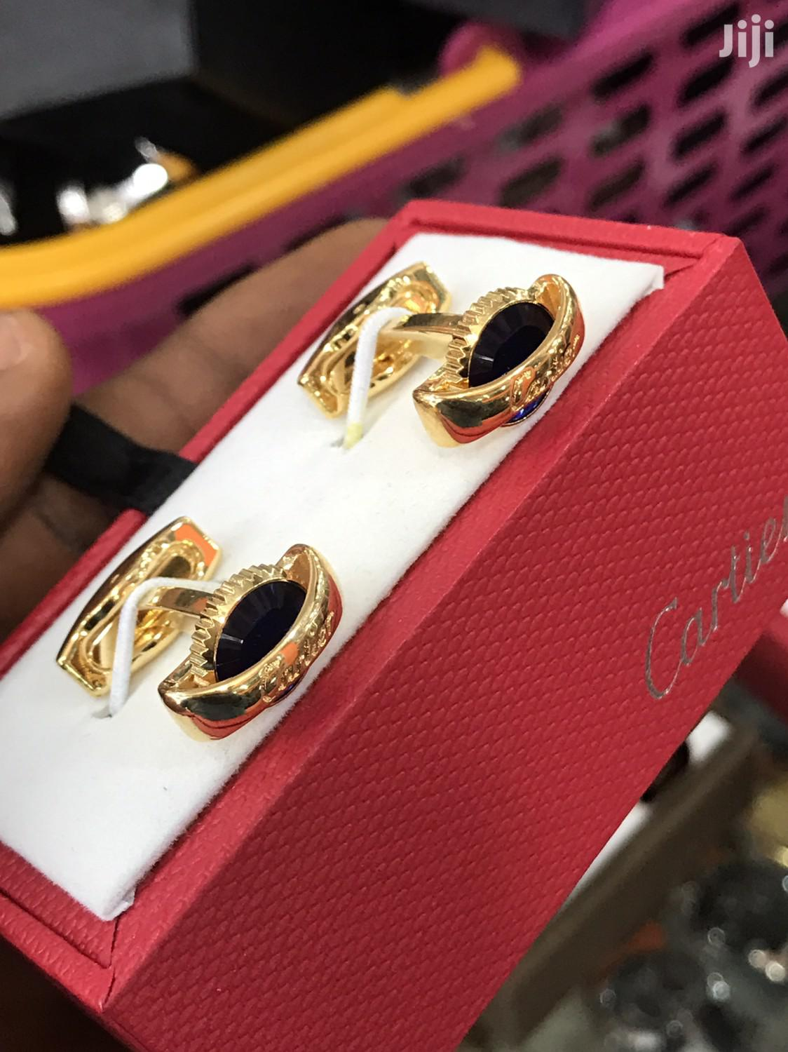 Cartier Cufflinks Buttons   Clothing Accessories for sale in Surulere, Lagos State, Nigeria