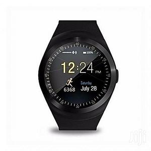 Y1 Smart Watch - SIM Bluetooth Supported | Smart Watches & Trackers for sale in Lagos State, Agege